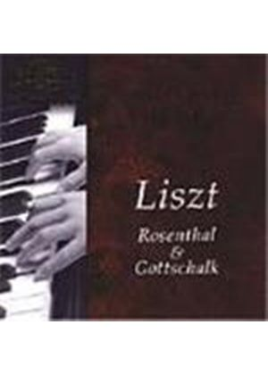 Arthur Friedheim plays Liszt, Rosenthal & Gottschalk