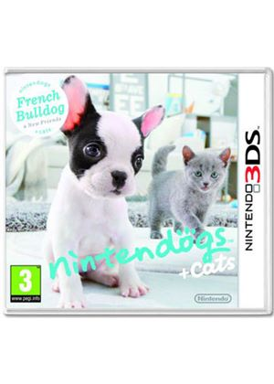 Nintendogs + Cats - French Bulldog + New Friends (Nintendo 3DS)