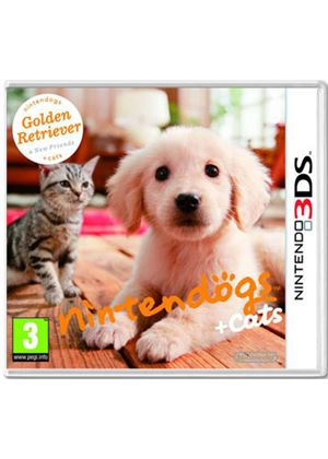 Nintendogs + Cats - Golden Retriever + New Friends (Nintendo 3DS)