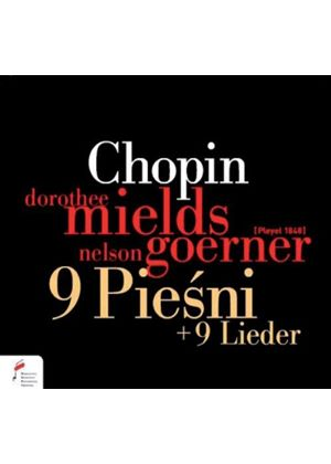 Chopin: 9 Piesni (Music CD)