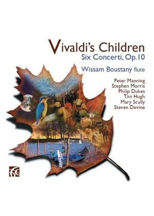Vivaldi's Children: Six Concerti, Op. 10 (Music CD)