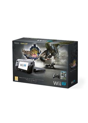 Nintendo Wii U 32GB Monster Hunter 3 Ultimate Premium Pack - Black (Nintendo Wii U)