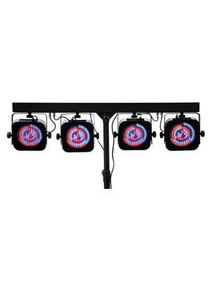 NJD LED Quad RGB Spot DMX Bar