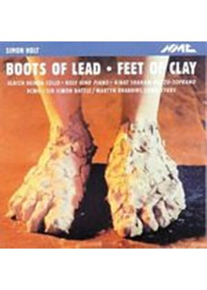 Simon Holt - Boots Of Lead, Feet Of Clay (Rattle, Brabbins, BCMG) (Music CD)