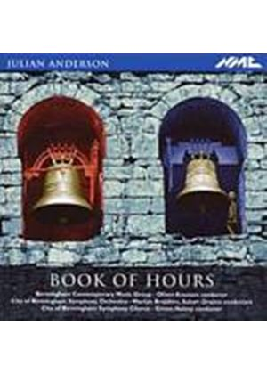 Julian Anderson - Book Of Hours (Music CD)