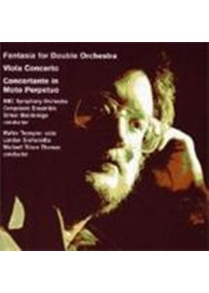 Bainbridge: Fantasia for Double Orchestra; Viola Concerto