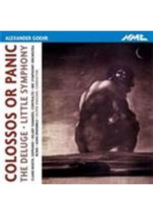 Goehr, A: Colossos or Panic (Music CD)