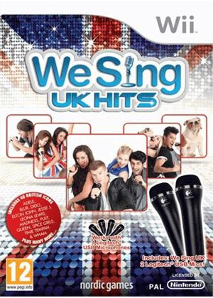 We Sing - UK Hits with Twin Mic Bundle (Wii)