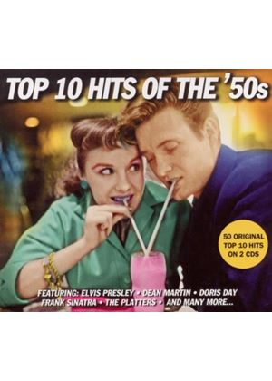 Various Artists - Top 10 Hits Of The '50s (Music CD)