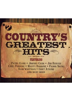 Various Artists - Countrys Greatest Hits (2 CD) (Music CD)