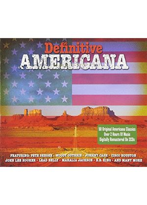 Various Artists - Definitive Americana (Music CD)