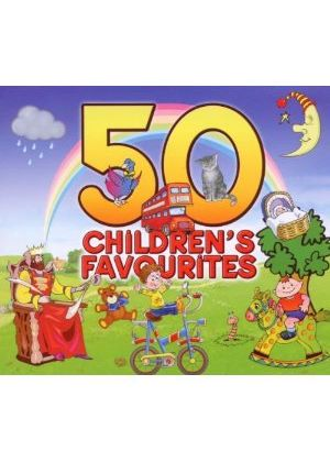 Various Artists - 50 Children's Favourites (Music CD)