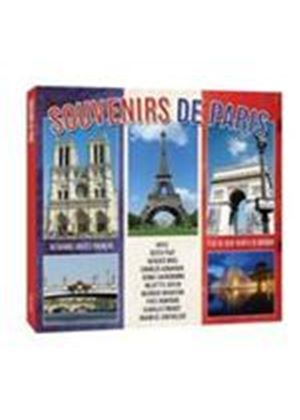 Various Artists - Souvenirs De Paris (Music CD)