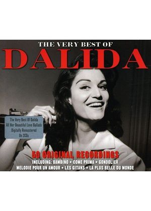 Dalida - Very Best of Dalida (Anthologie 49 Songs (Les Incontournables De La Chanson Française)) (Music CD)