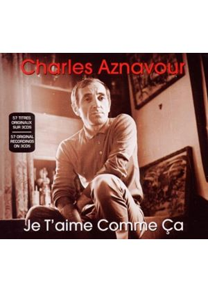 Charles Aznavour - Je T'aime Comme Ca (Music CD)