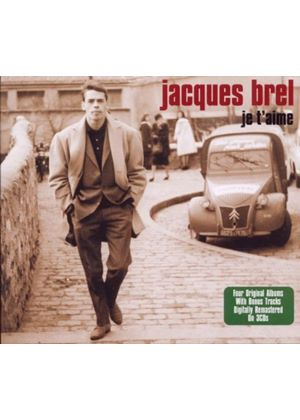 Jacques Brel - Je T'aime [Digipak] (Music CD)