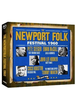 Various Artists - Newport Folk Festival 1960 (Live Recording) (Music CD)