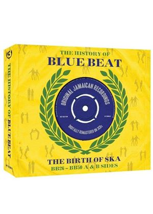 Various Artists - History Of Bluebeat (BB26- BB50 A & B Sides) (Music CD)