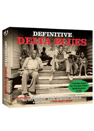 Various Artists - Definitive Delta Blues (Music CD)