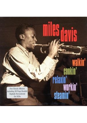 Miles Davis - Walkin' Cookin' Relaxin' Workin' Steamin' (5 CD Box Set) (Music CD)