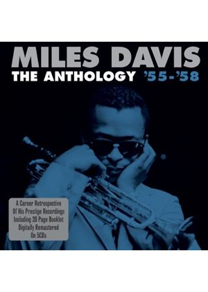 Miles Davis - The Anthology '55-'58 (5 CD Box Set) (Music CD)