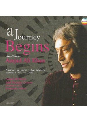 Amjad Ali Khan - Journey Begins Vol. 1 (A Tribute to Kishan Maharaj) (Music CD)