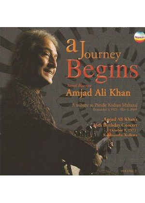 Amjad Ali Khan - A Journey Begins Vol. 2 (A Tribute to Kishan Maharaj) (Music CD)