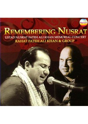 Rahat Fateh Ali Khan - Remembering Nusrat (Music CD)