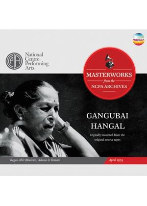 Gangubai Hangal - Ragas Ahir Bhairav, Adana & Yaman (April 1974) (Music CD)