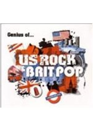 Various Artists - Genius Of US Rock And Brit Pop (Music CD)