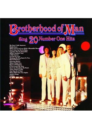 Brotherhood of Man - Sing Twenty Number One Hits (Music CD)