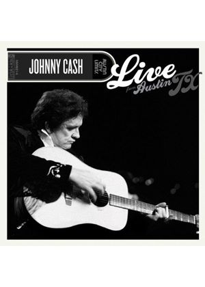 Johnny Cash - Live from Austin TX (Live Recording/+2DVD) (Music CD)