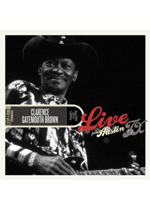 "Clarence ""Gatemouth"" Brown - Live from Austin TX (Live Recording) (Music CD)"
