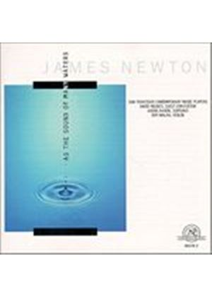James Newton - As The Sound Of Many Waters (Sf Contemp Music Players) (Music CD)