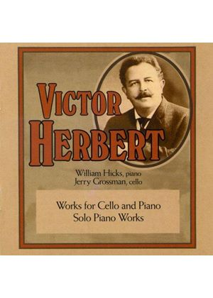 Victor Herbert: Works for Cello & Piano (Music CD)
