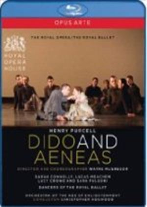 Dido & Aeneas, by Henry Purcell / Connolly, Meachem, Crowe, OAE, Hogwood, McGregor, Royal Opera & Ballet (ROH Covent Garden 2009) (Blu-ray)