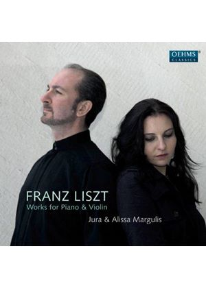 Liszt: Works for Piano & Violin (Music CD)