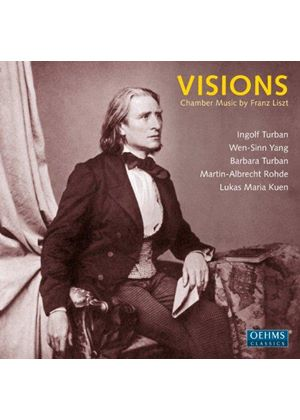 Visions: Chamber Music by Franz Liszt (Music CD)