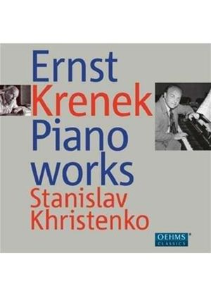 Ernst Krenek: Piano Works (Music CD)