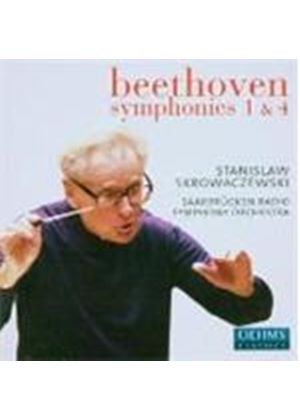 Beethoven: Symphonies Nos 1 and 4