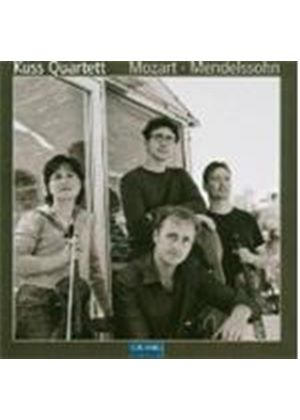 Mendelssohn; Mozart:  Wks for String Quartet