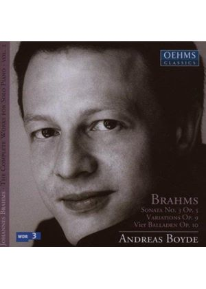Brahms: Complete Works for Solo Piano, Vol 2