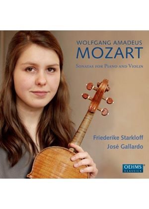 Mozart: Sonatas for Violin and Piano (Music CD)