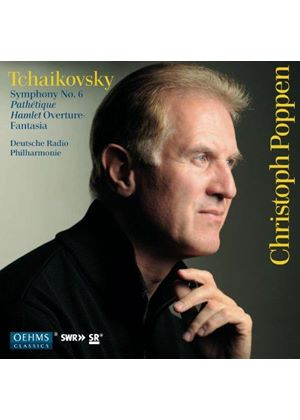 "Tchaikovsky: Symphony No. 6 ""Pathétique""; Hamlet Overture-Fantasia (Music CD)"