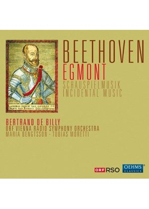 Beethoven: Egmont Incidental Music (Music CD)