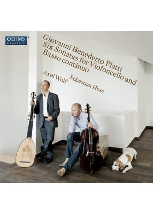 Giovanni Benedetto Platti: Six Sonatas for Violoncello and Basso Continuo (Music CD)
