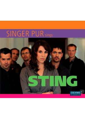 Singer Pur - Singer Pur sings Sting (Music CD)