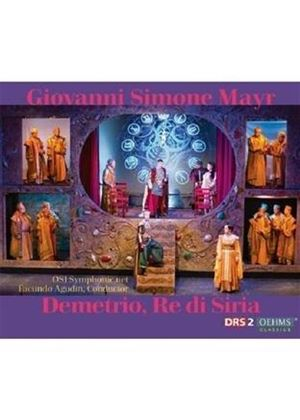 Giovanni Simone Mayr: Demetrio, Re di Siria (Music CD)