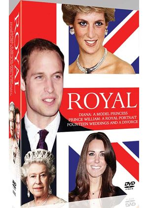 Royal Box Set (Queen: Remarkable Life, Diana: In Search, William: Portrait)