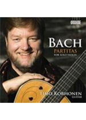 Bach: Violin Partitas (Music CD)
